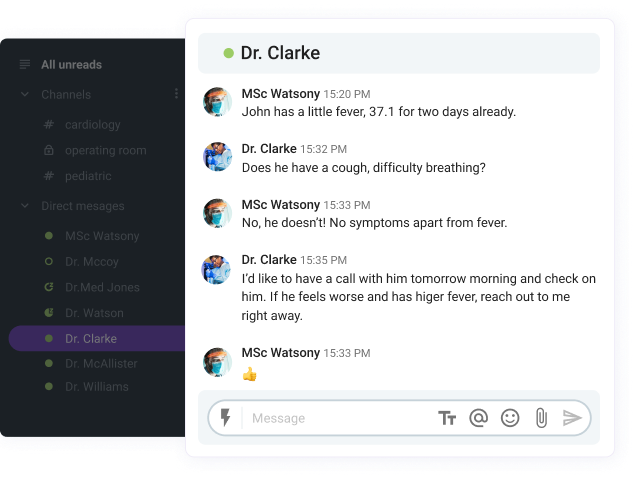 Centralized messaging platform for healthcare workers